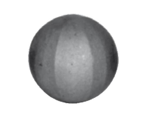 Tömör golyó kovácsolt felületű átmérője 50mm