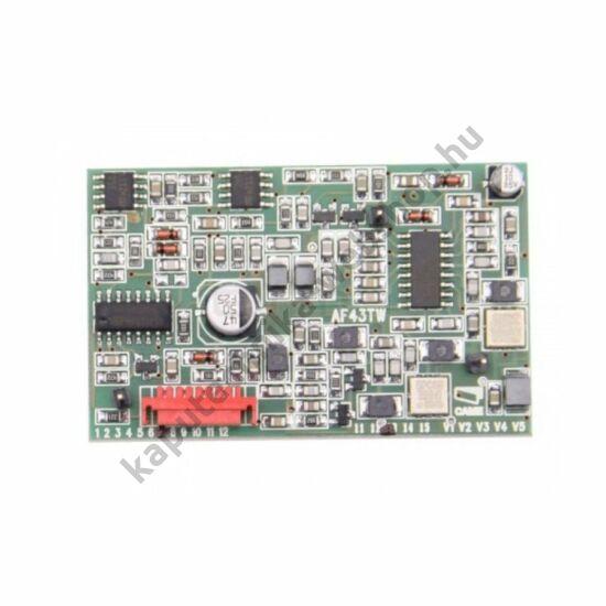 AF43TW frekvenciakártya