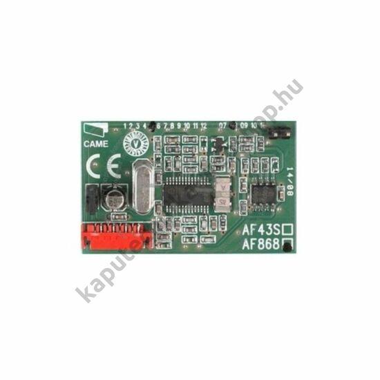 AF868 frekvenciakártya