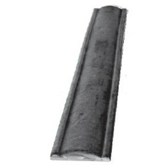 Kovácsoltvas korlát felső domború 40x10x3000mm