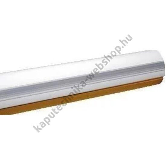 CAME-G03750 fél-ovális alumínium árboc fehérre festve, átlátszó réselzáróval és ütközőgumival, 4m