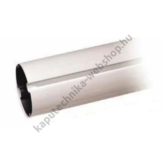 CAME-G03752 ovális alumínium árboc fehérre festve ütköző gumi nélkül, 4m