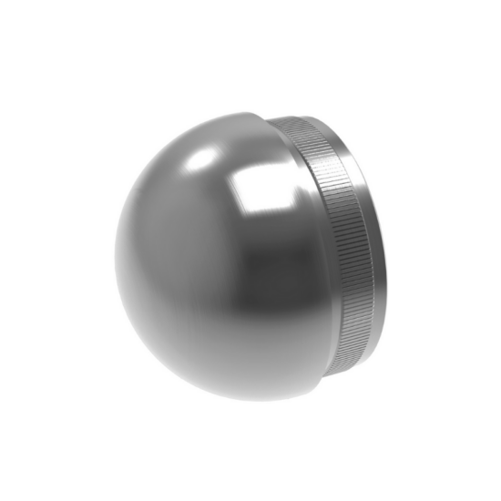A-5730-233 Rozsdamentes szálcsiszolt félgömb végzáró