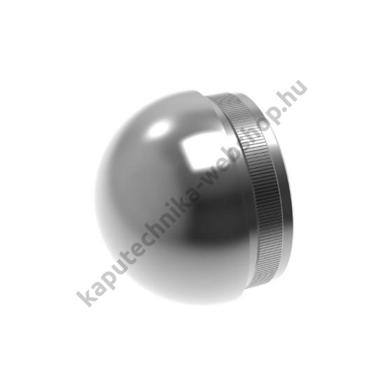 A-5730-242-L Rozsdamentes polírozott félgömb végzáró