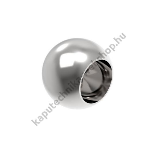 A-0221-012-L Polírozott gömb végzáró 12mm átmérővel