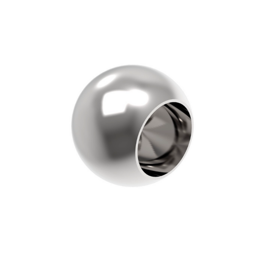 A-0221-016-L Polírozott gömb végzáró 16mm átmérővel