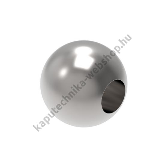 A-0221-3012 Szálcsiszolt gömb végzáró 12mm átmérővel