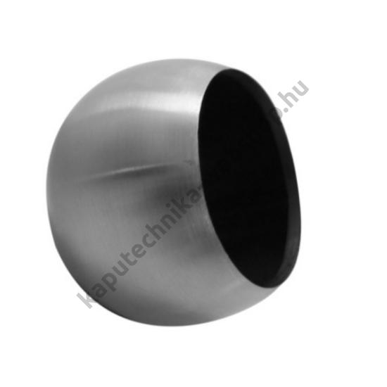 A9-33 Szálcsiszolt gömb végzáró 33,7x2mm átmérővel