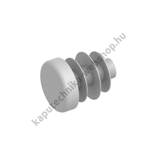 Műanyag, szürke színű végzáró dugó, ø12x1,5mm