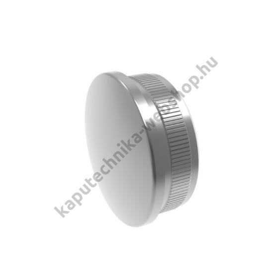 A14-5729 Polírozott csővégzáró kupak 42,4x2mm átmérővel