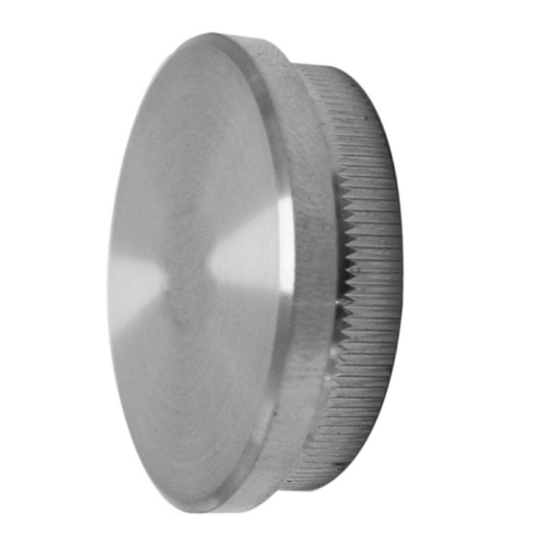 A-5732 Polírozott csővégzáró kupak 42,4x2mm átmérővel