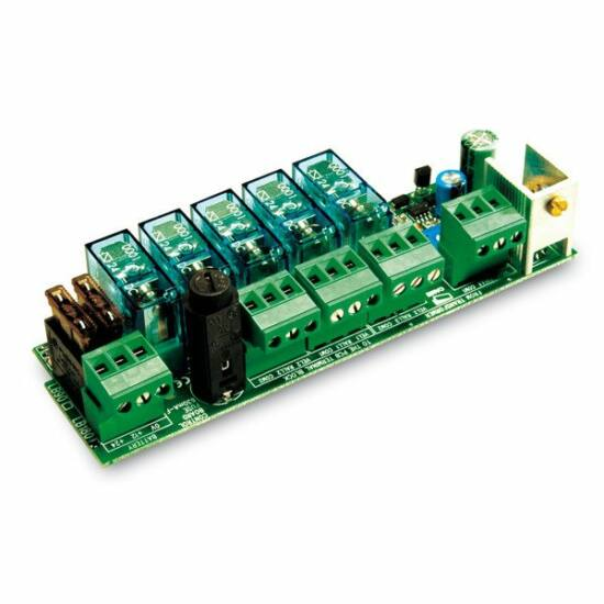 CAME-LB180 akkumulátor csatlakoztató és töltő panel ZLJ24 vezérléshez