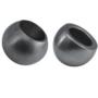 Kép 1/2 - A-0221-012-Semi Szálcsiszolt gömb végzáró 12mm átmérővel